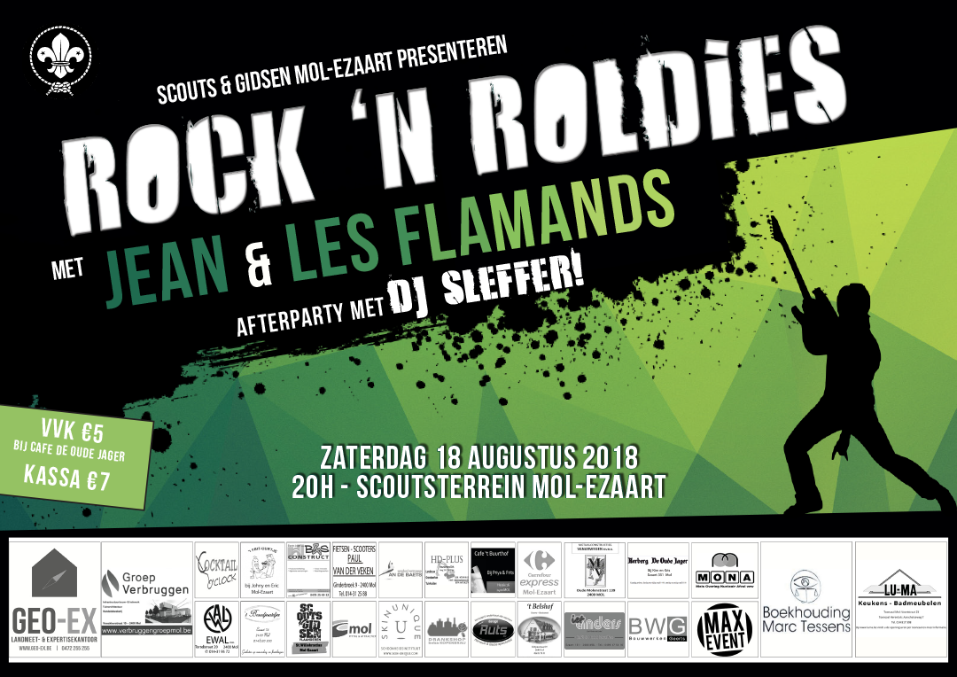 Affiche Rock 'n Roldies 2018