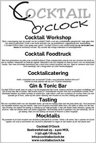 Cocktail 'o Clock